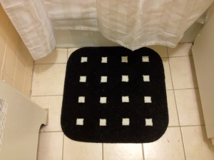 B's New Bath Mat
