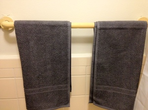 B's New Towels