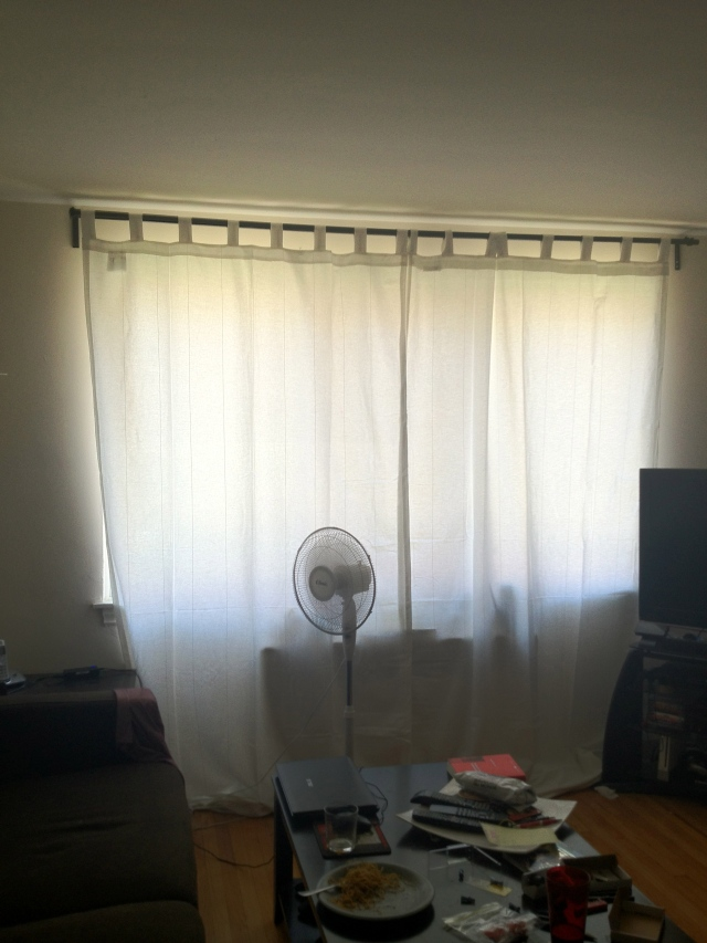 Curtains in B's Living Room